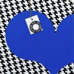 Coeur à emporter – bleu