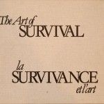 The art of survival – La survivance et l'art