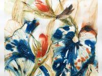 VENDU: Jardin bleu I