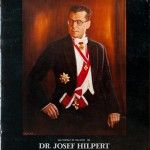 Dr Josef Hilpert – Self Portrait of the artist