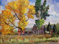 VENDU: Paysage d'automne