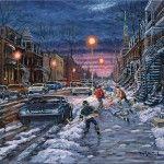 Un beau soir d'hiver