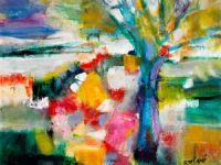 VENDU: Autour de l'arbre bleu
