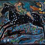 La fuite du grand cheval