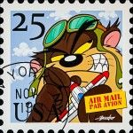 VENDU: Tasmanian Devil Air Mail