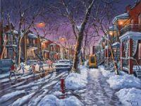 L'hiver à Montréal
