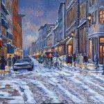 Au coeur de l'hiver, Rue St-Paul