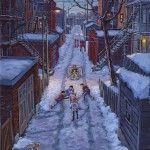 Soir d'hiver dans la Petite Patrie