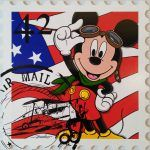 Mickey air mail