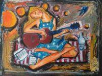 Guitare de nuit