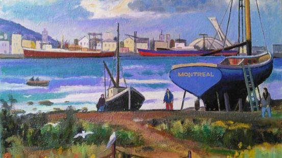 Montréal vue de Longueuil
