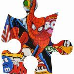 Mini-puzzle Spider Man
