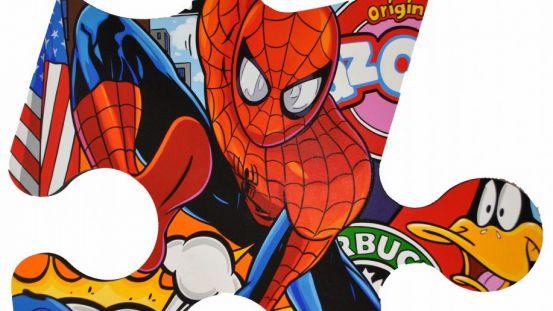 Mini-puzzle Spider Man