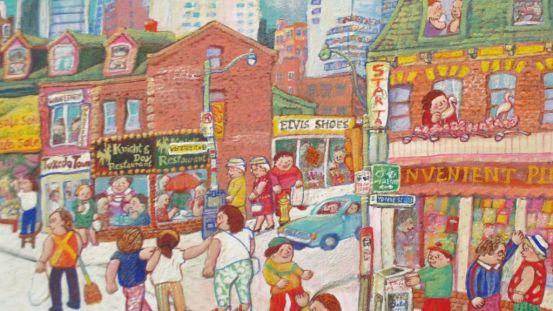Miyuki Tanobe – Corner Yonge & Wellesley, Toronto