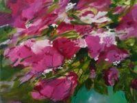 Floraison rosée