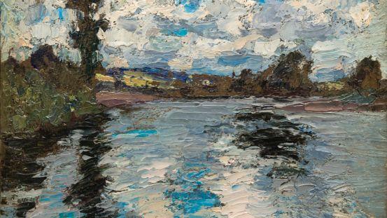 Reflets sur la Rivière Nicolet