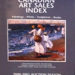 Canadian Art Sales Index 2000-2001