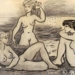 Les trois nues