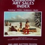 Canadian Art Sales Index 2001-2002 Auction Season