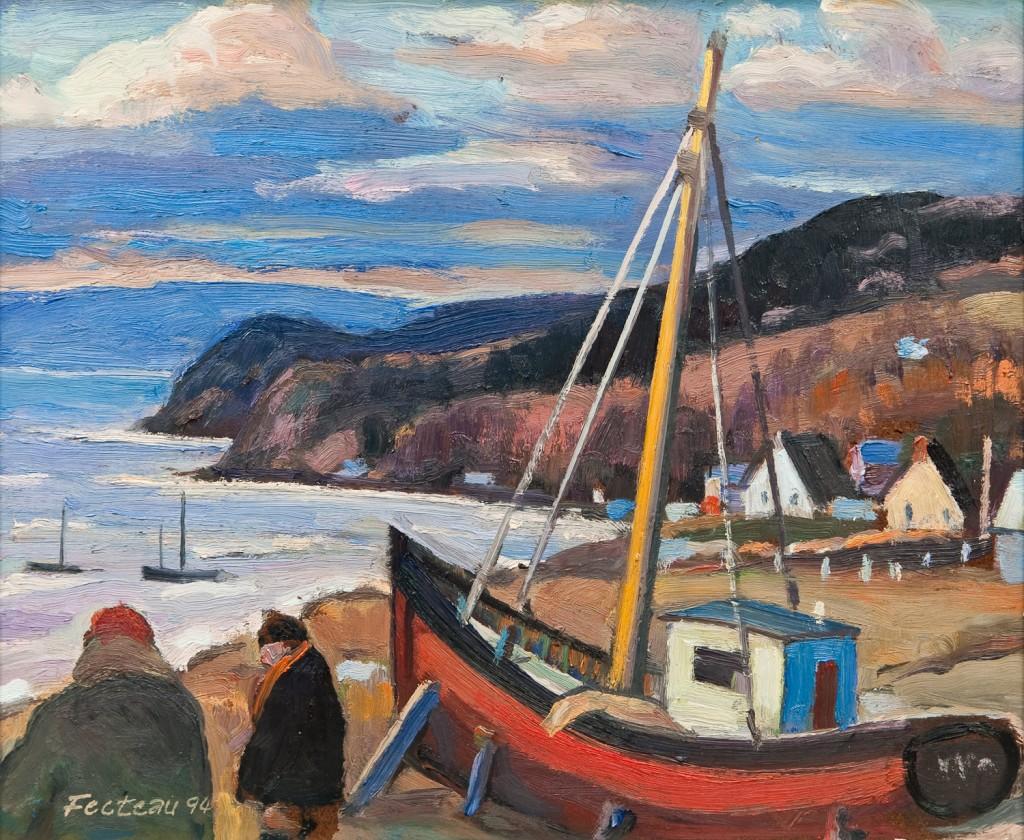 Les deux pêcheurs, Gaspé