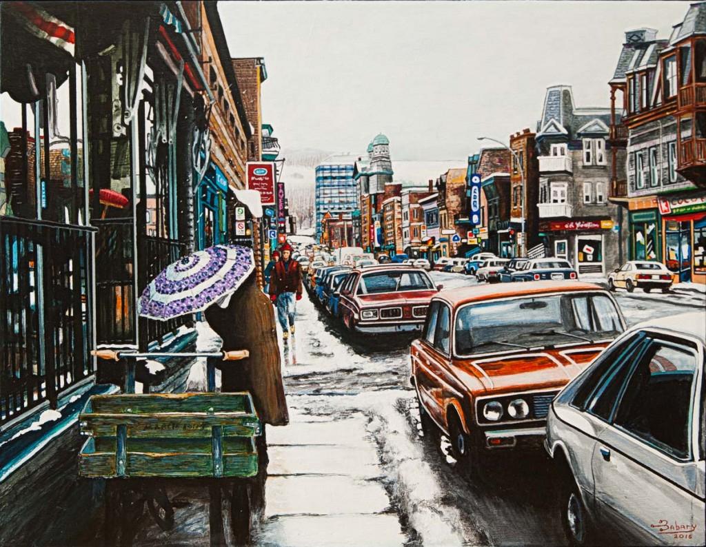 Rue Rachel, Montréal