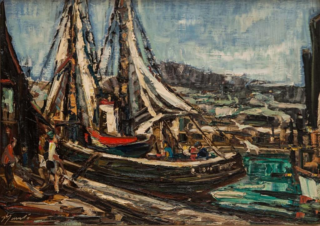 Fishing schooners Atlantic Coast