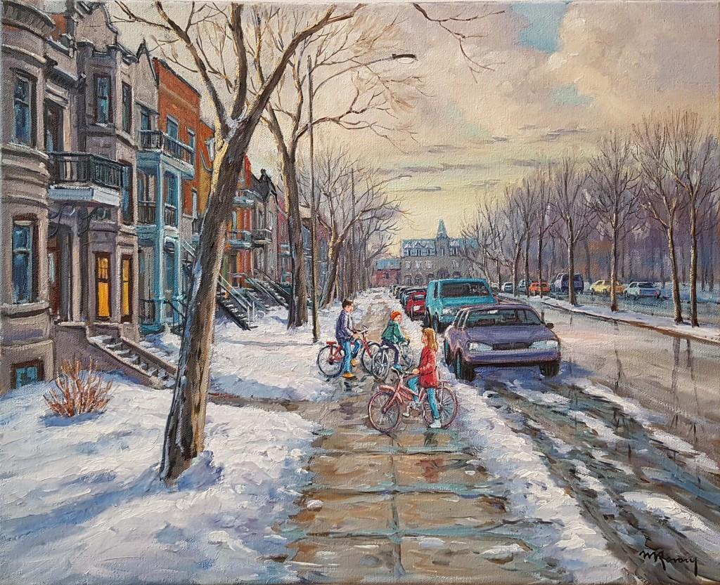 Rue du Parc Lafontaine