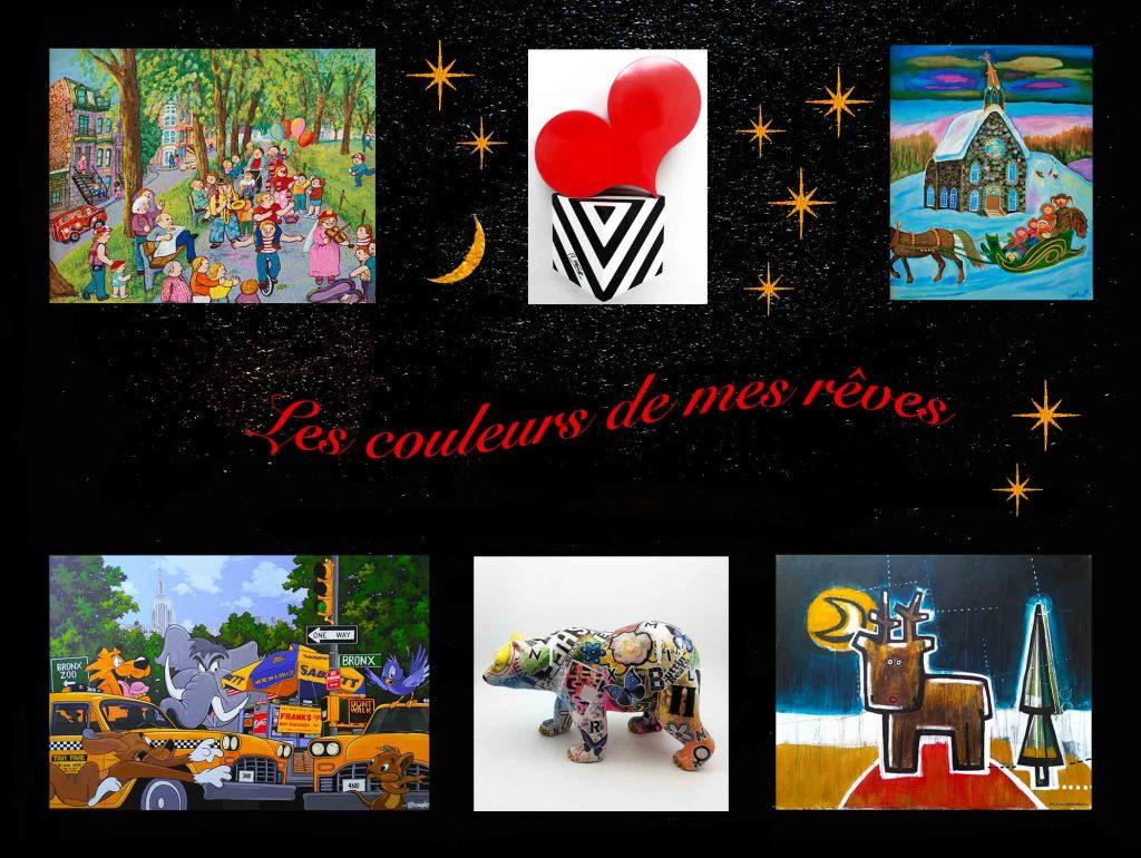 Exposition «Les couleurs de mes rêves»