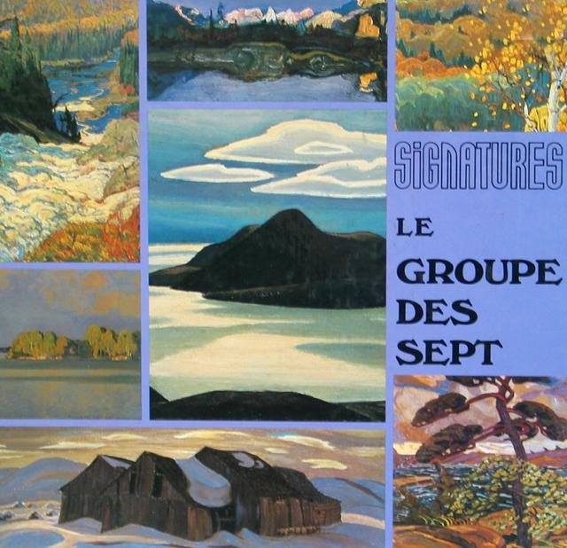 Groupe de 7 artistes
