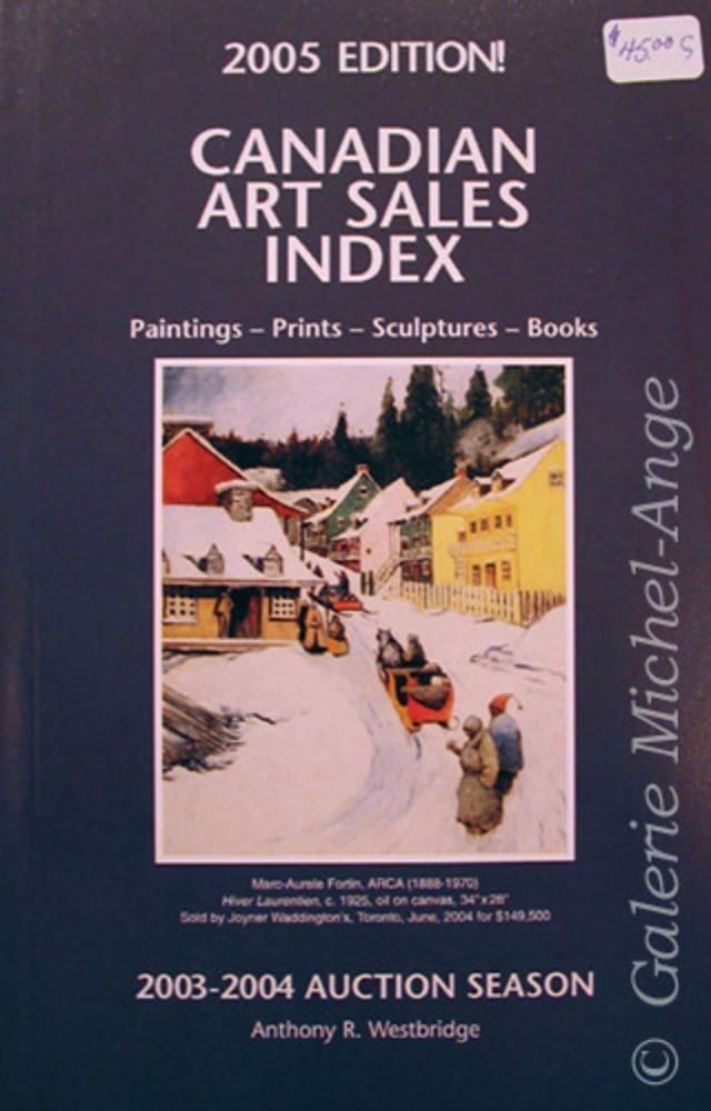Canadian Art Sales Index 2003-2004 Auction Season